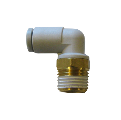 Elbow connector 4mm-Rc1/8""