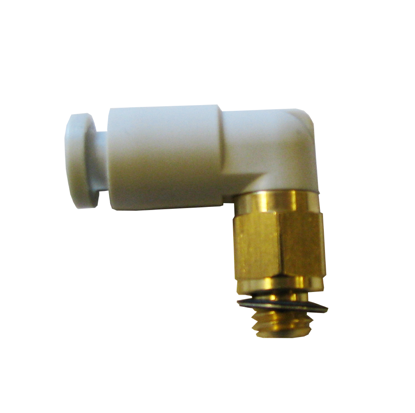 Elbow connector 4mm-M5