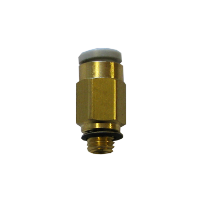 Straight connector 4mm-M5
